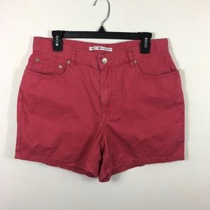 Pink high waisted tommy Hilfiger shorts size 12
